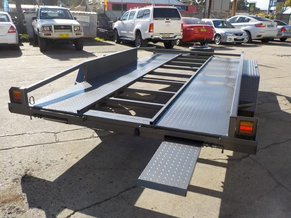 14 Foot Car Trailer 1
