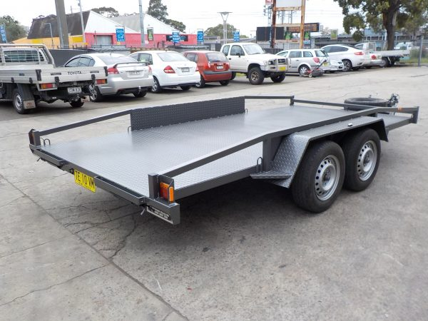 2 Tonne 14  x 66 Car Trailer 1