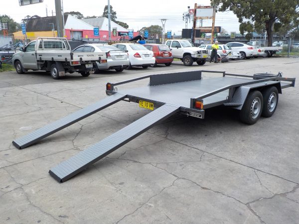 2 Tonne 14  x 66 Car Trailer 6