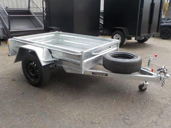 6 x 4 x 13 Galvanized Box Trailer 750 kgs GVM 2