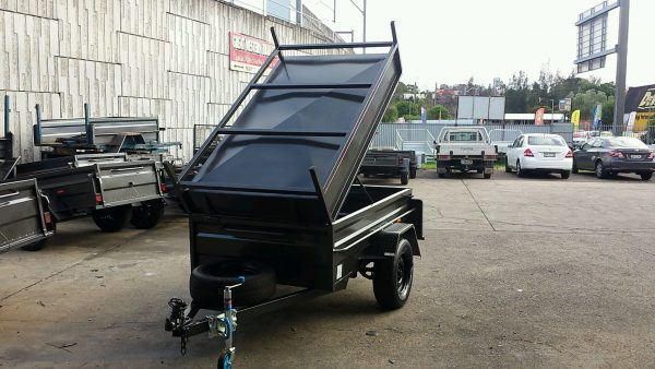 7 x 4 Front Hinged Lid