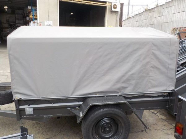 7 x 4 x 13 Caged with Canvas Cover and canopy frame