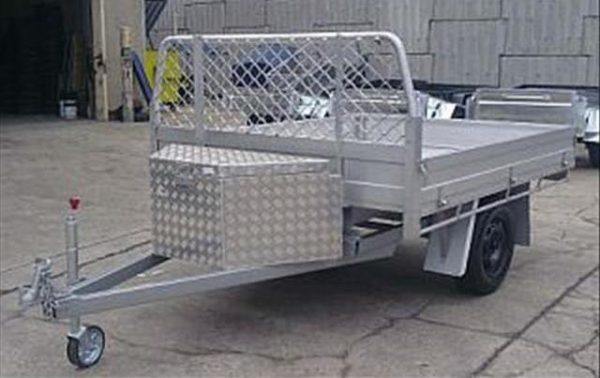 Aluminum Ute Back Table Top Trailer 1