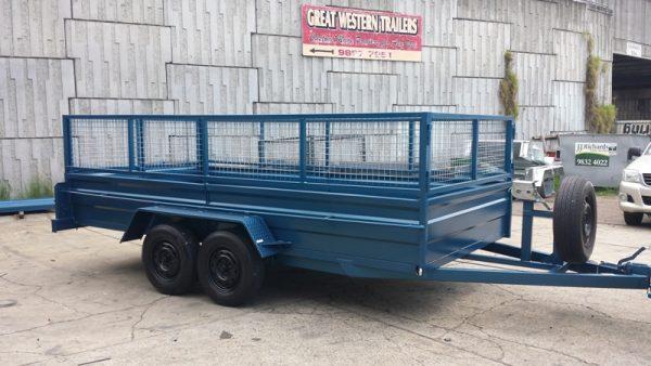 Blue Car Box Trailer 1 1