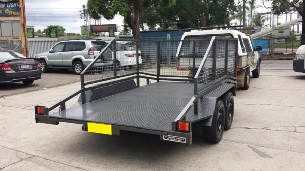 Car Trailer with Cage 1