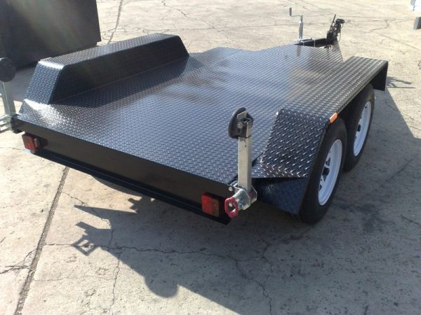 Dual Axle Flat Bed 1