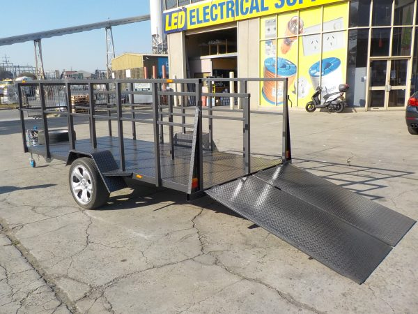 Shopping Trolley with Ramps 4